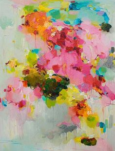 Stunning colour combinations in artist Yangyang Pan's work.