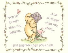 I love this quote! Pooh bear ❤️