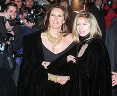 Barbra & Donna Karan