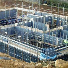 Insulating Concrete Formwork (ICF) Basement Block