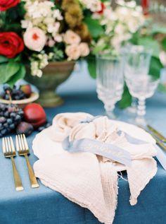 Photography : Cody Hunter Photography | Linen Rentals : La Tavola Fine Linen Rental | Event Design : Elleson Events | Venue : Castle Ladyhawke | Floral Design : Elleson Events Read More on SMP: http://www.stylemepretty.com/2016/12/05/blue-ridge-mountains-castle-ladyhawke-wedding/