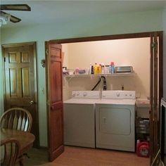 . Hardwood Floors, Flooring, Attached Garage, Great Schools, Eat In Kitchen, Ranch Style, Stacked Washer Dryer, Wood Doors, Powder Room