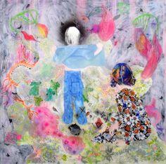 Pretty Art, Cute Art, Cool Abstract Art, Aya Takano, Different Forms Of Art, Hippie Art, Photo Wall Collage, Medium Art, Art Inspo