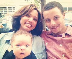 stephen curry daughter, Riley- Adorable Family