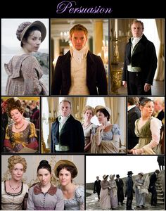 Persuasion directed by Adrian Shergold (TV Movie, 2007) #janeausten #fanart