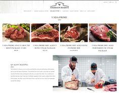 Beef Bacon, Smoked Bacon, Dry Aged Beef, Porterhouse Steak, Usda Prime, Prime Rib, Create Website, Baked Goods, Restaurants