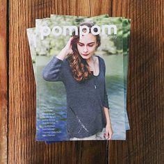 Pom Pom summer issue — get it at Fringe Supply Co.