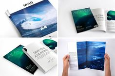 In this collection you'll find all kinds of PSD Mockups for A4 Magazine, with different types of views like magazine cover, magazines in hands, folded magazines, and much more.