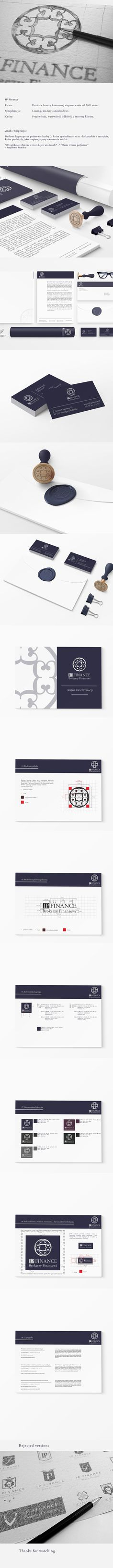 IP Finance Branding by Pawel Scharmach, via Behance