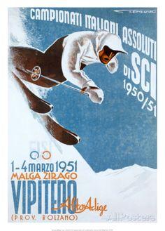 Campionati Italiani Assoluti Affiches par Franz Lenhart sur AllPosters.fr