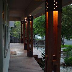 Images Of Interior Column Lighting | 3,749 Post Light Porch Design Photos