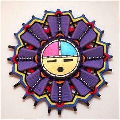 Hopi Sun Face