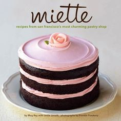 """Read """"Miette Recipes from San Francisco's Most Charming Pastry Shop"""" by Meg Ray available from Rakuten Kobo. Renowned for beautiful cakes and whimsical confections, Miette Patisserie is among the most beloved of San Francisco's c. Pretty Cakes, Beautiful Cakes, Beautiful Desserts, Simply Beautiful, Huge Cake, Naked Cakes, Bolo Cake, Dessert Cookbooks, Dessert Book"""
