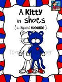 Kitty in Shoes Clipart Freebie