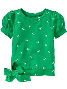 Bow-Tie Hem Tees for Baby | Old Navy