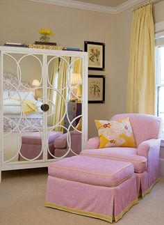 this would be cute for a baby girls room.