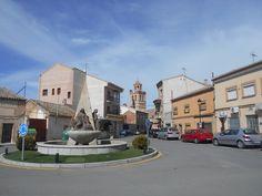 Galvez.. Plaza y Fuente de Kalato