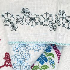 Coloring embroidery designs is a fun way to get creative! Learn how to add color to embroidery with colored pencils and frame your work with hand stitches.