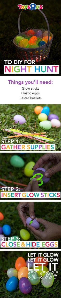 Staying up late...it's not just for New Year's Eve anymore! Just when your littles thought they were too big for Easter egg hunts, along comes this cool nighttime spin on the holiday classic!