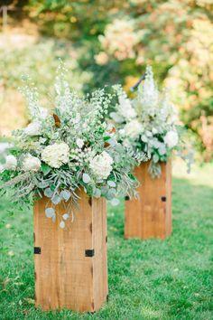 Inspiration: Mariage rustique-chic | Les idées de ma maison Photo: ©Harper's Bazaar | Rachel Pearlman #idees #deco #mariage #rustique #chic #champetre #inspiration