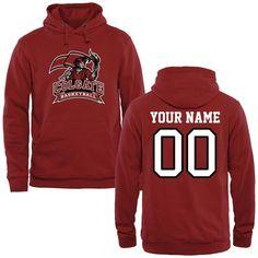 Colgate Raiders Personalized Basketball Pullover Hoodie - Crimson