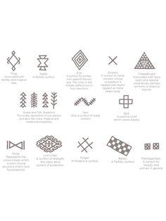 Risultati immagini per berber symbols Dot Tattoos, Body Art Tattoos, Tatoos, Facial Tattoos, Henna Tattoos, Tattoo Art, Berber Tattoo, Human Body Art, Moroccan Art