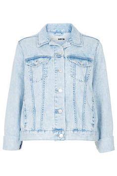MOTO Fitted Denim Jacket - Denim Jackets - Jackets & Coats - Clothing
