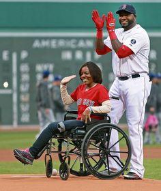 One Tough Righthander (Jim Davis / Globe Staff) Mery Daniels Is Making Boston Stronger