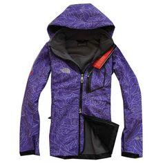 The North Face Windwear Purple Jacket
