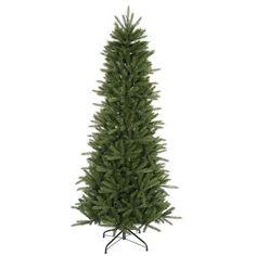 4.5' Slim Vermont Fir Instant Shape Artificial Christmas Tree - Unlit