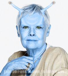 Andorian look for Judy Dench. - never in Star Trek - but if ONLY! Star Trek Rpg, Star Wars, Character Ideas, Character Inspiration, Star Trek Cosplay, Star Goddess, Star Trek Universe, Sandbox, Goddesses