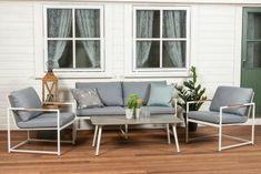 Brisbane hagemøbler - 2,5+1+1+salongbord Garden Furniture, Outdoor Furniture Sets, Outdoor Decor, Kristiansand, Atrium, Patio, Home Decor, Outdoor Garden Furniture, Decoration Home