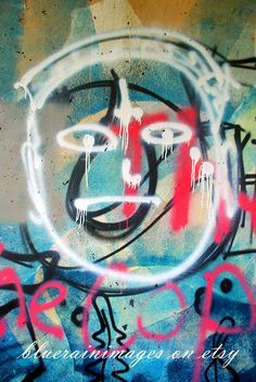 Graffiti Art, Urban Art, Street Art by bluerainimages on Etsy