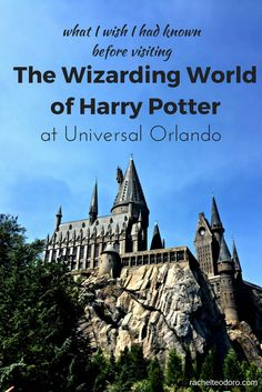 What I Wish I Had Known Before Visiting The Wizarding World of Harry Potter at Universal Studios