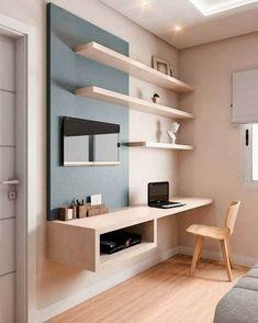 Office Interior Design, Best Interior, Office Interiors, Room Interior, Mesa Home Office, Home Office Decor, Home Decor, Office Ideas, Desk Office