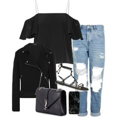 Sans titre #1264 by vivig5 on Polyvore featuring polyvore, fashion, style, Fendi, Equipment, Topshop, Rebecca Minkoff, Yves Saint Laurent and clothing