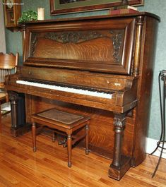 <b>Piano</b> - <b>Antique</b> <b>Upright</b> Grand. $500 - An old upright piano, would be even better if I can find one that can still be played also.