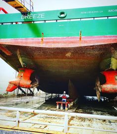 #Azipull#Rolls-Royce#Breeze#fourchon#gulf#work#offshorelife#Drydock#1yearinspection#jacksonoffshore by andrew0109