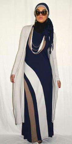 3 piece abaya set, very stylish Modest Wear, Modest Dresses, Modest Outfits, Muslim Women Fashion, Islamic Fashion, Hijab Style, Hijab Chic, Mode Abaya, Mode Hijab