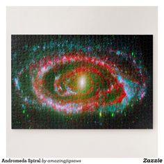 Andromeda Spiral Jigsaw Puzzle