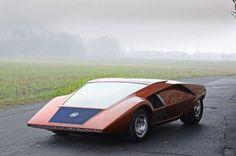 Lancia Stratos Zero - Magic Car Pics/REX