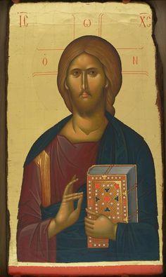 Religious Icons, Religious Art, Christ Pantocrator, Byzantine Icons, Catholic Prayers, King Of Kings, Orthodox Icons, Christian Art, Christianity
