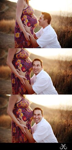 So cute! I love maternity pics with the daddy!  Jessica Claire Photography