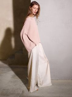 Oversized is so in but the proportions are hard to get right. This is oversized done well.