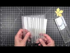 """Video tutorial for an easy """"free-style"""" collage card I created for www.ellenhutson.com"""