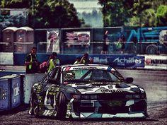 Dan Brockett Formula Drift - comic look by Park Kim Joong  http://www.danbrockettdrift.com/