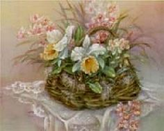 Lena Liu Basket of Orchids