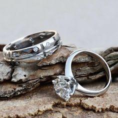 Beautiful custommade platinim and diamond wedding ring set Diamond Jewelry, Gold Jewelry, Diamond Wedding Rings, Wedding Sets, Wholesale Jewelry, Jewelry Gifts, Pendants, Engagement Rings, Beautiful
