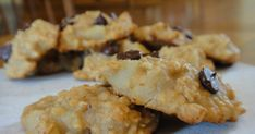 Freeze Your Way Fit: Clean Eating Pear Oatmeal Cookies