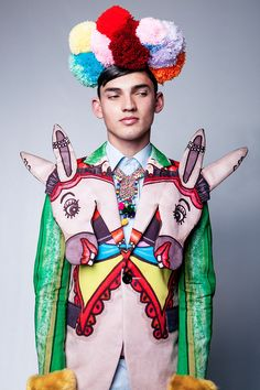 Wearable Art Editorials : Brotherhood